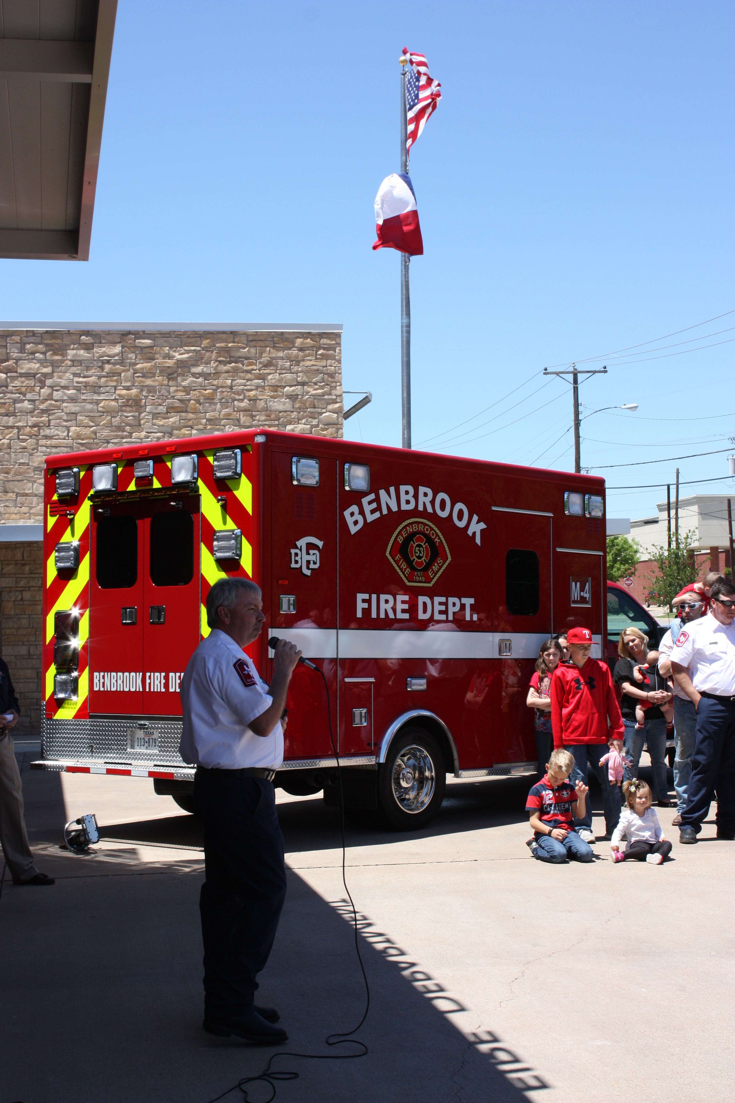 Fire Department Ribbon Cutting May 2013
