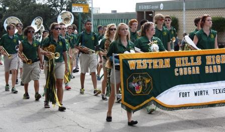 Western Hills Home Coming Parade 14u